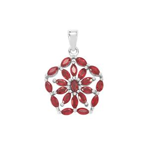 Malagasy Pendant in Sterling Silver 4.52cts