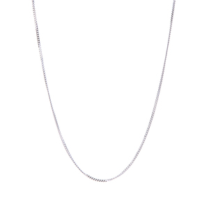 "16/18/20"" Sterling Silver Classico Curb Chain 0.78g"