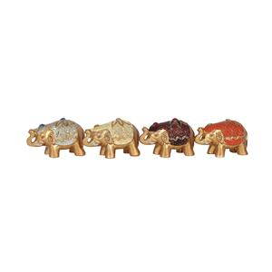 Mini Gold Elephant