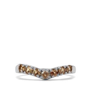 0.74ct Tsivory Colour Change Garnet Sterling Silver Ring