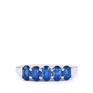 1.60ct Daha Kyanite Sterling Silver Ring