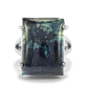 Vivianite Ring in Sterling Silver 19cts