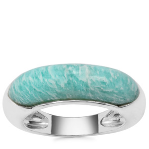 Amazonite Ring in Sterling Silver 4.81cts