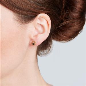 Thai Blue Sapphire Earrings in Sterling Silver 0.24ct