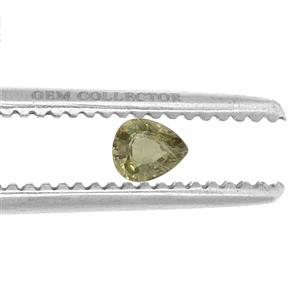 Ambanja Demantoid Garnet GC loose stone  0.45ct