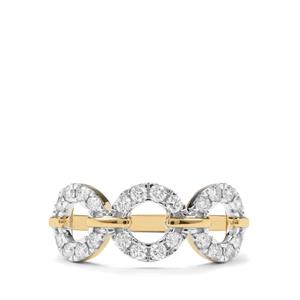 1/2ct Internally Flawless Diamond 18K Gold Tomas Rae Ring