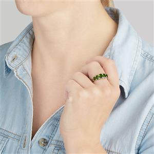 Chrome Diopside Ring  in Sterling Silver 2.54cts