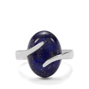 10.16ct Sar-i-Sang Lapis Lazuli Sterling Silver Aryonna Ring