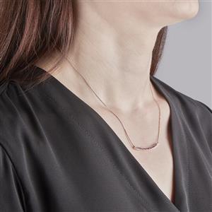 Amethyst Necklace in Vermeil 0.55ct
