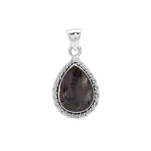 8.50ct Shungite Sterling Silver Aryonna Pendant