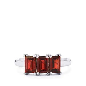 Nampula Garnet Ring in Sterling Silver 2.08cts