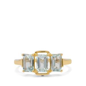 Aquaiba™ Beryl Ring in 9K Gold 1.60cts