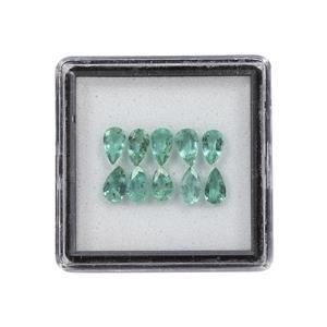 Zambian Emerald Gem Box 1.68cts