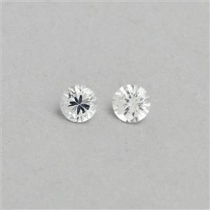 Ceylon White Sapphire Loose stone  0.58ct