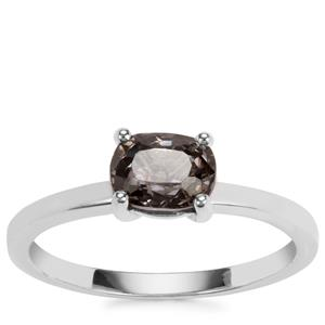 Burmese Multi-Colour Spinel Ring in Sterling Silver 0.85cts
