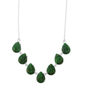 67.92ct Maw Sit Sit Sterling Silver Necklace