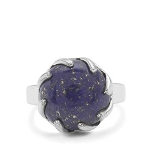 Sar-i-Sang Lapis Lazuli Ring in Sterling Silver 9.50cts