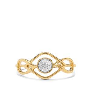 1/20ct Diamond Midas Ring