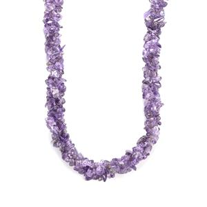 Bahia Amethyst Necklace in Sterling Silver 190cts