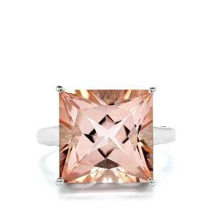 Galileia Topaz Ring in Sterling Silver 12.57cts