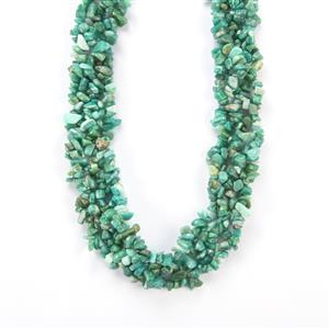 Amazonite Necklace in Sterling Silver 578cts