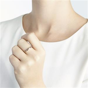 Amethyst & Diamond 10k Gold Ring ATGW 0.39cts