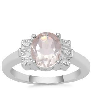 Goshenite Ring in Sterling Silver 1.62cts