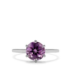 1.73ct Moroccan Amethyst Sterling Silver Ring
