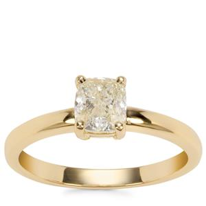 Natural Coloured Diamond Ring in 18K Gold 1ct