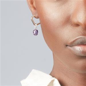 Molte Mini Geo Hoop Earrings in Sterling Silver