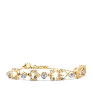Serenite Bracelet with Diamond in 18K Gold 6.92cts