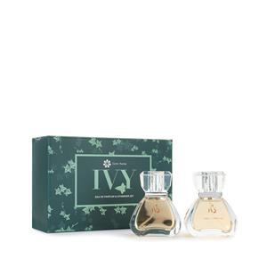IVY Eau De Parfum Set 2 x 30ml with  Citrine Gemstones ATGW 0.32cts