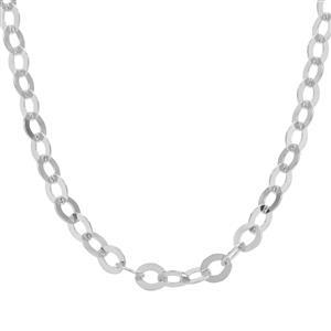 "30"" Sterling Silver Classico Oval Rolo Chain 2.61g"