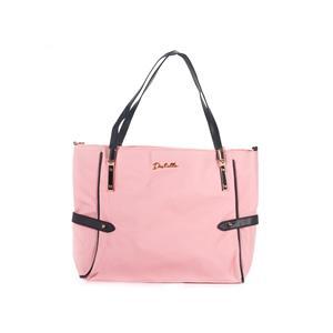 Emily Destello Vegan Leather Handbag in Pink