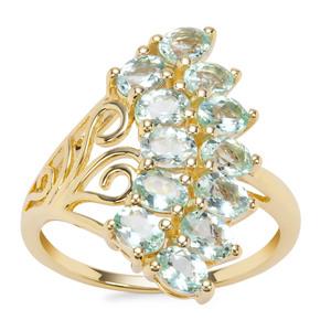 Aquaiba™ Beryl Ring in 9K Gold 1.77cts