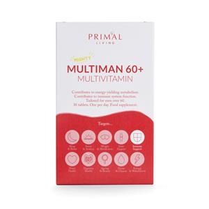Multiman 60+ Multivitamin Supplement