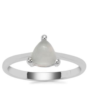 Aquaprase™ Ring in Sterling Silver 0.74cts