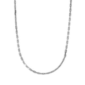 "18"" Sterling Silver Tempo Boston Link Chain 0.87g"