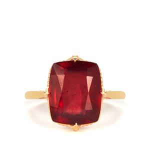 8.30ct Thai Ruby 9K Gold Ring (F)