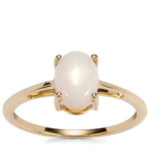 Coober Pedy Opal Ring in 9K Gold 0.72ct