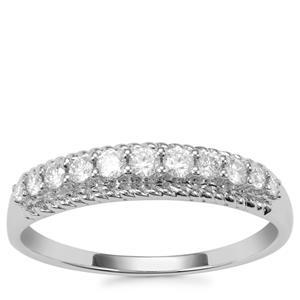Argyle Diamond Ring in 10K White Gold 0.26ct