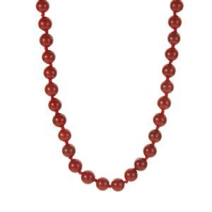 238ct Red Jasper Necklace