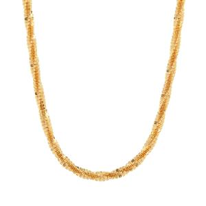 "24"" Midas Couture Diamond Cut Slider Criss Cross Chain 4.63g"