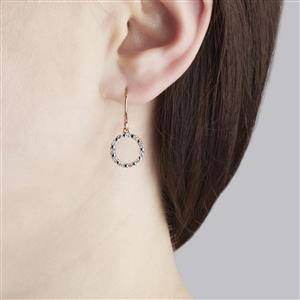 1/4ct Diamond Rose Gold Vermeil Earrings