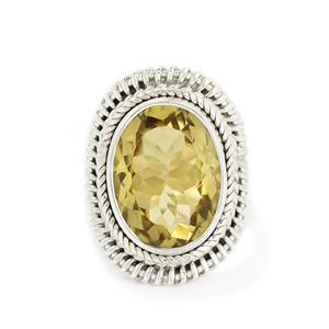 9.00ct Lemon Quartz Sterling Silver Aryonna Ring