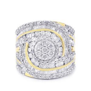 Diamond Tomas Rae Ring in 10k Gold 2ct