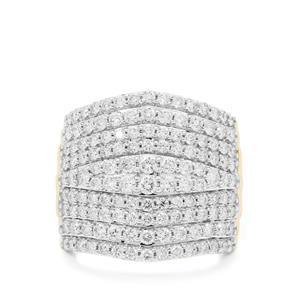 2ct Argyle Diamond 9K Gold Ring