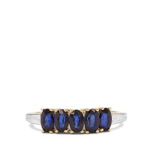 1.46ct Sri Lankan Sapphire 9K Gold Ring