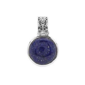 Sar-i-Sang Lapis Lazuli Pendant in Sterling Silver 17cts