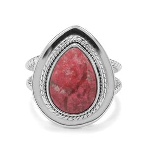 6ct Thulite Sterling Silver Aryonna Ring